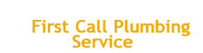First Call Plumbing Services